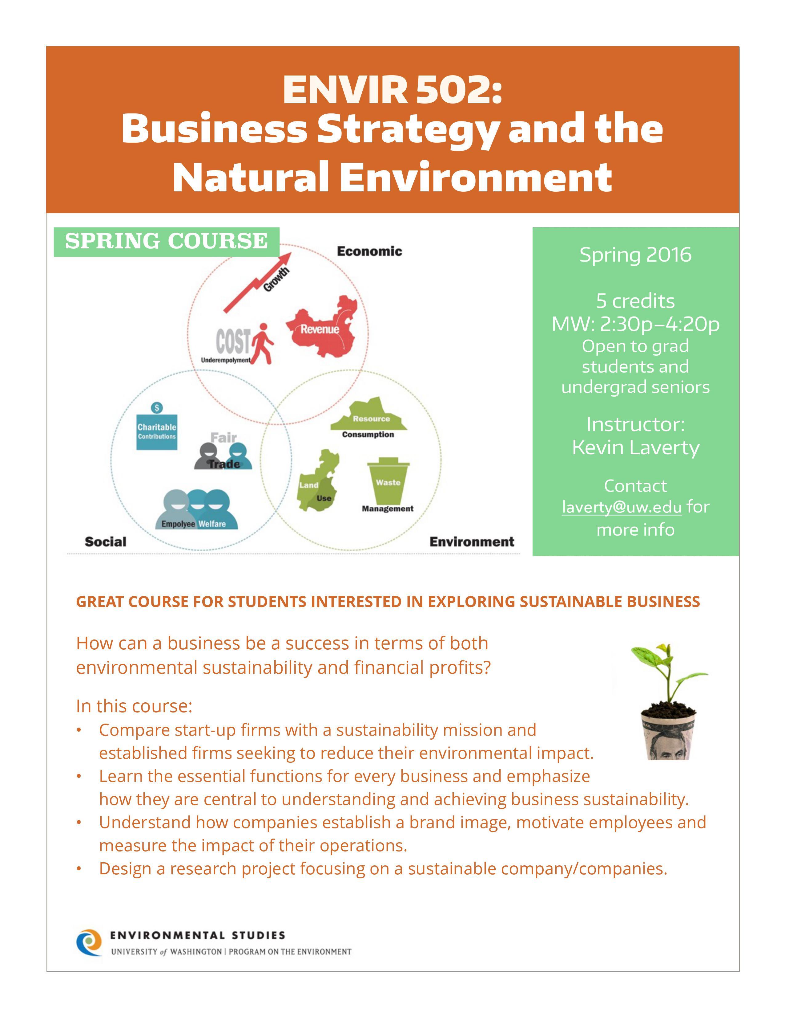 Envir Natural Resource Economics Review