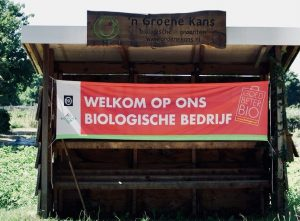 Farm sign in Netherlands