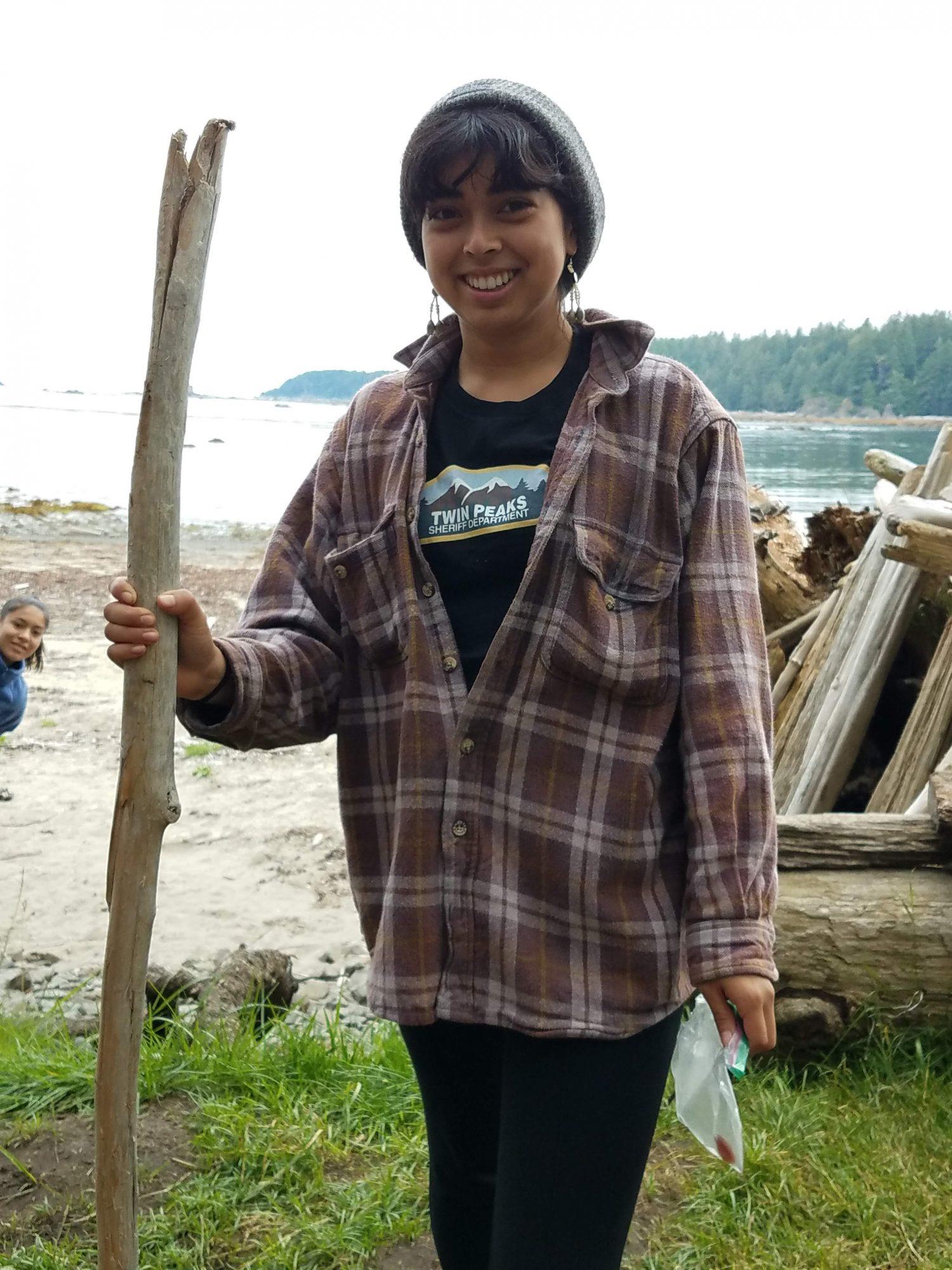 UW Environmental Studies major, Corina Yballa.